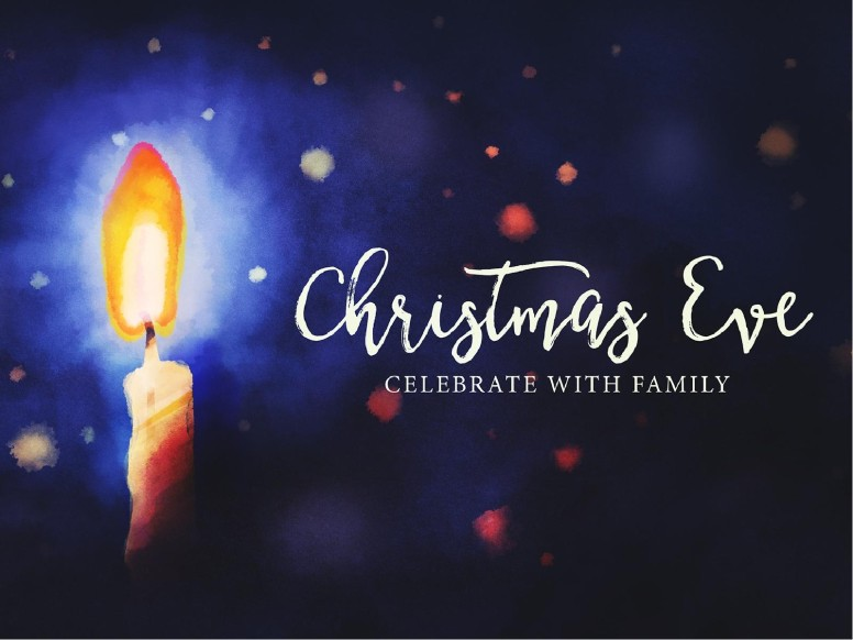 Sunday, December 24, 5:00 pm - YOUTH LED CHRISTMAS EVE SERVICE
