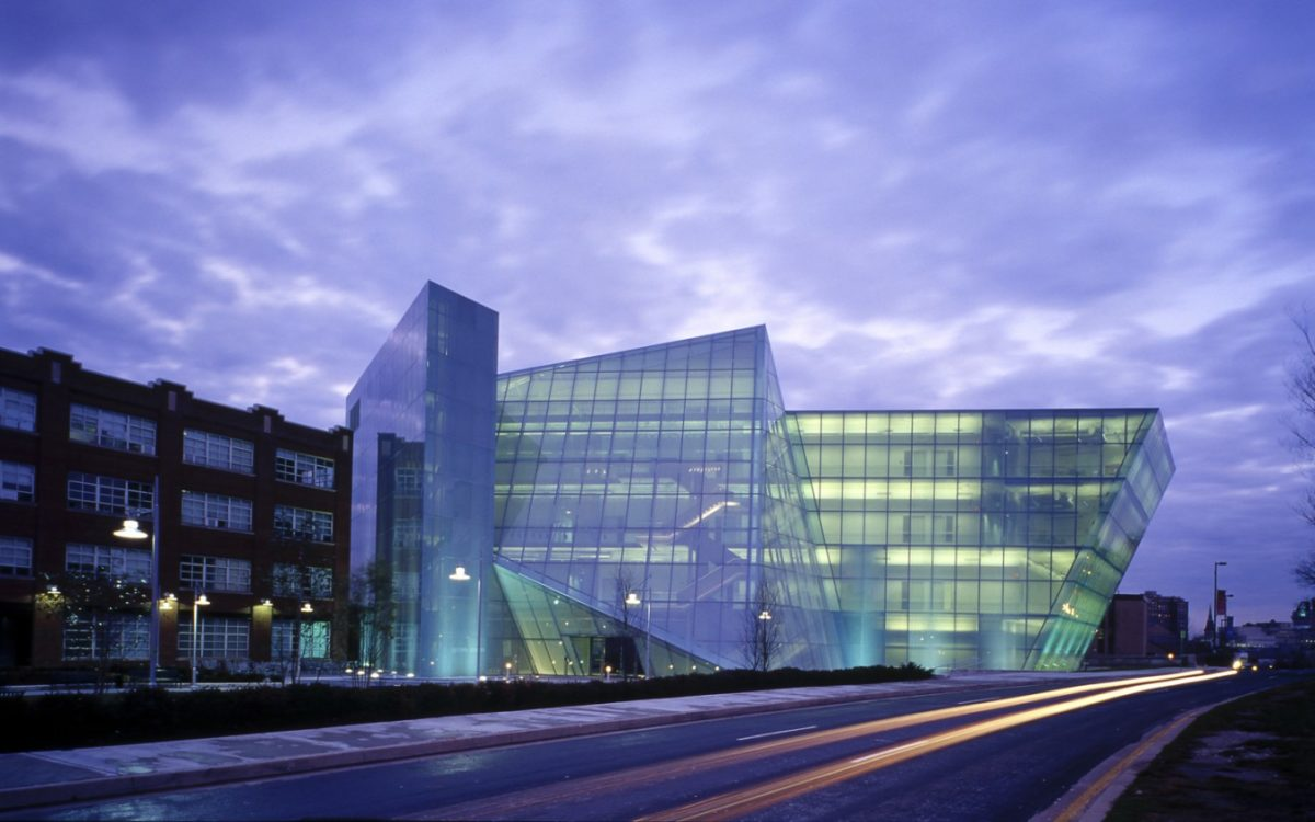 MICA's Brown Center, where the Innovation Awards ceremony will be held this year.