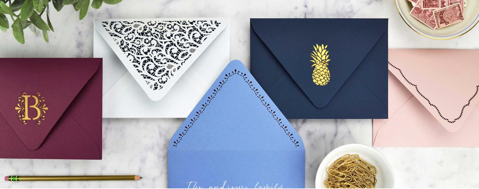 Laser Cut Envelopes
