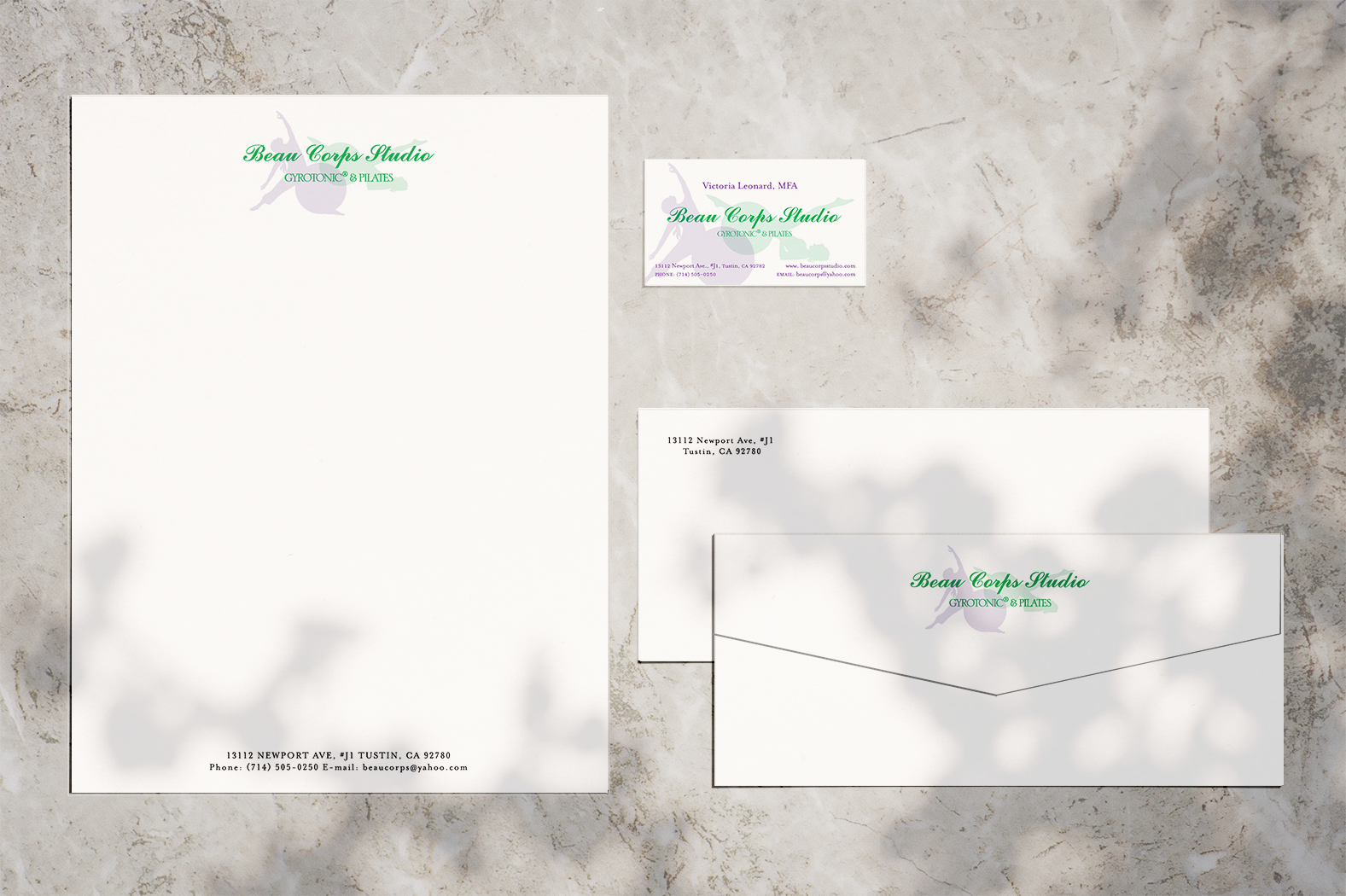 Letterhead, Envelopes and Business Cards