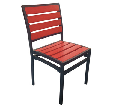 Chair Red  Code PWKCR W 470 x D 500 x H 830mm
