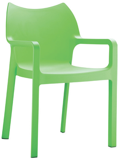 Side Chair  W 440 x D 500 x H 810mm  Green : Code CC4206 Orange : Code CC4206 Red : Code CC4206 Black : Code CC4206