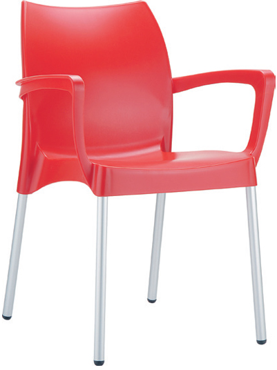 Carver Chair  W 560 x D 530 x H 800mm  Green : Code CC4206 Orange : Code CC4206 Red : Code CC4206 Black : Code CC4206