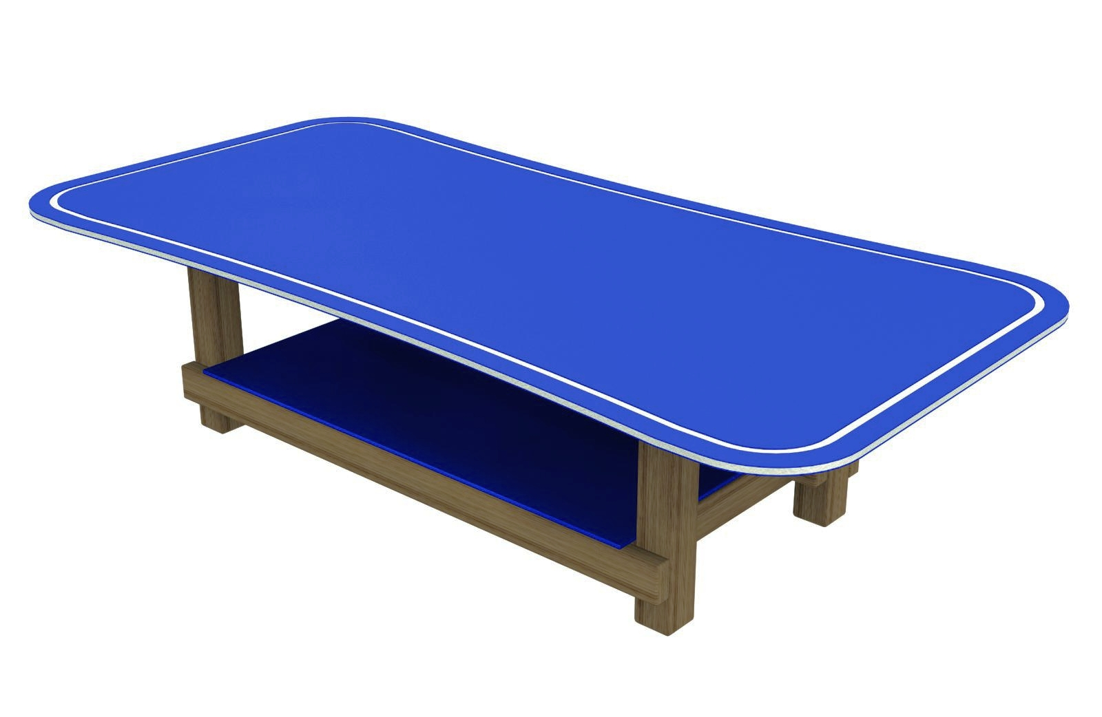 Lego Table with grooved edges