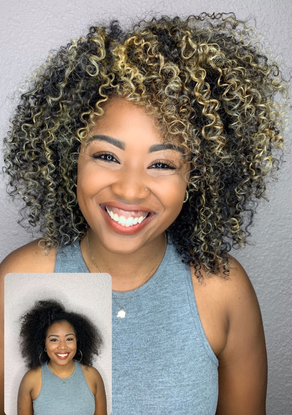 "Bleaching is really bad for you. You want to know what isn't bad for your curls? Lightning the hair . when we lighten hair that just means that we are using luxury products that can ""lighten your hair"" . These products contain all sorts of protein strengtheners and bonding properties . So if you are worried about bleach I would say that you should worry and run the other way. Before you run know that there is a big difference as to why experts and salon professionals do not use the word Bleach. It's because we don't lighten with bleach . We lighten with lightners or decolorizers but never bleach. In 2019 ditch who ever has bleached your feelings in the past and get into the chair of a lightning expert that can make your curls come to light !"