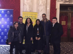 Attorney Samia attends Mher's performance