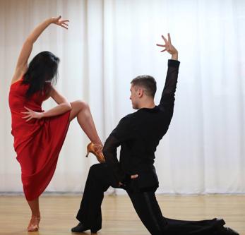 Pictured: Kateryna Stoliarenko - Skilled Ballroom Dancer
