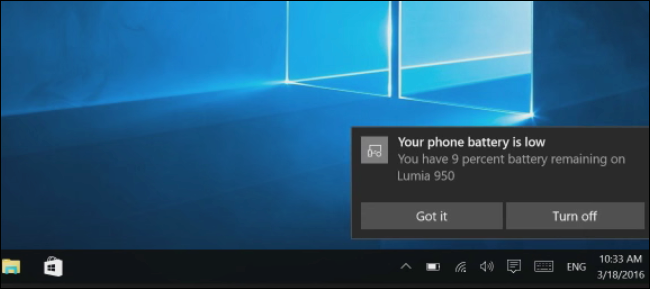 Windows 10 Cortana Android Phone