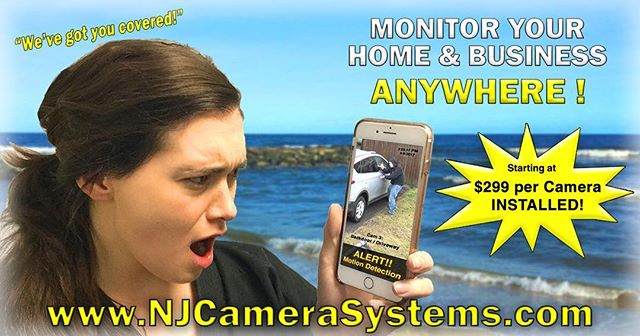 Did you know we install cameras too!