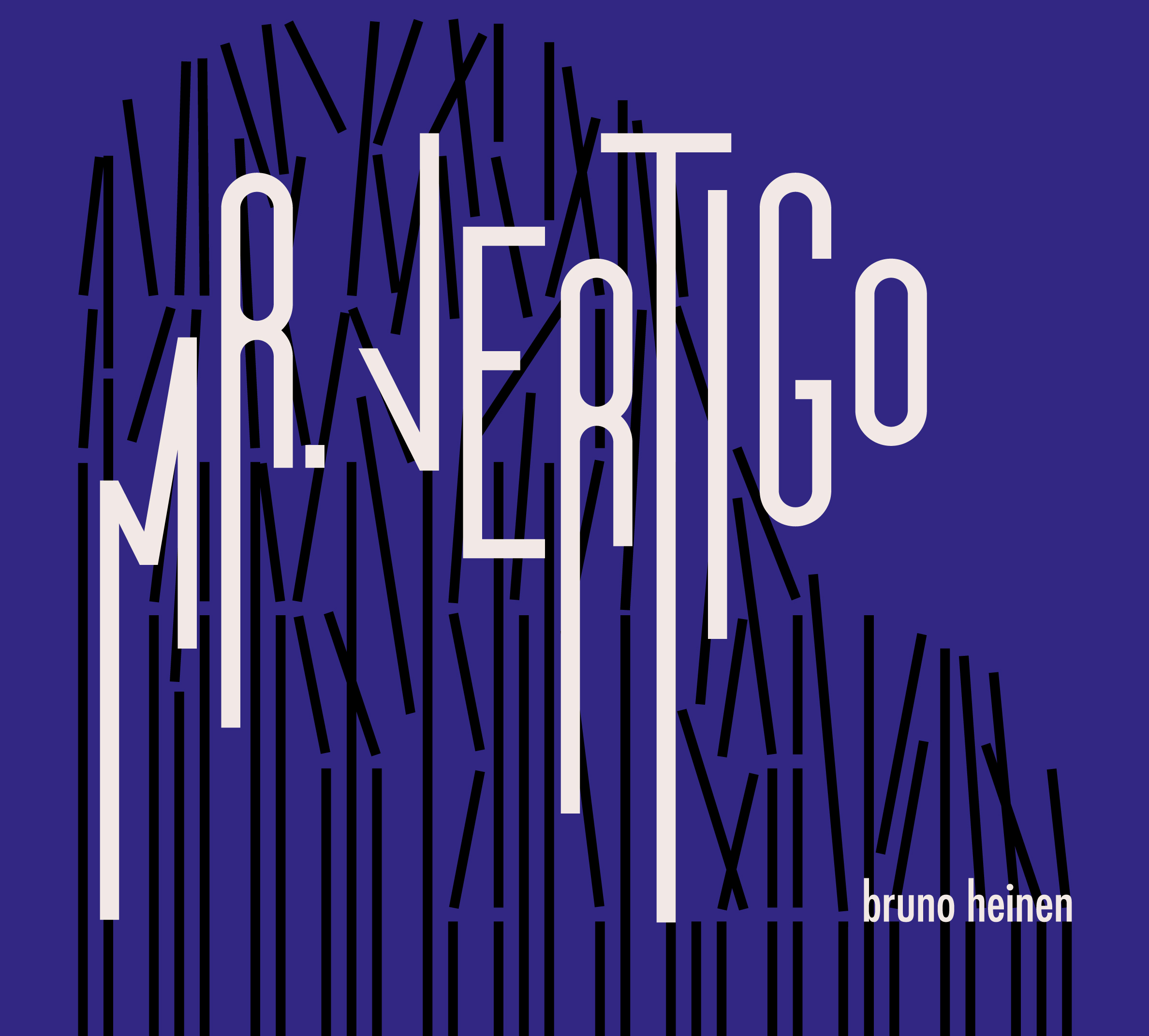 Mr. Vertigo - The debut solo album - exploring improvised counterpoint, overdubbing, rhodes and post-production effects. Original music inspired by a variety of sources, including painter Yves Klein, writer Paul Auster, and classical composers Debussy, Stockhausen and KurtágDesign by Binomi