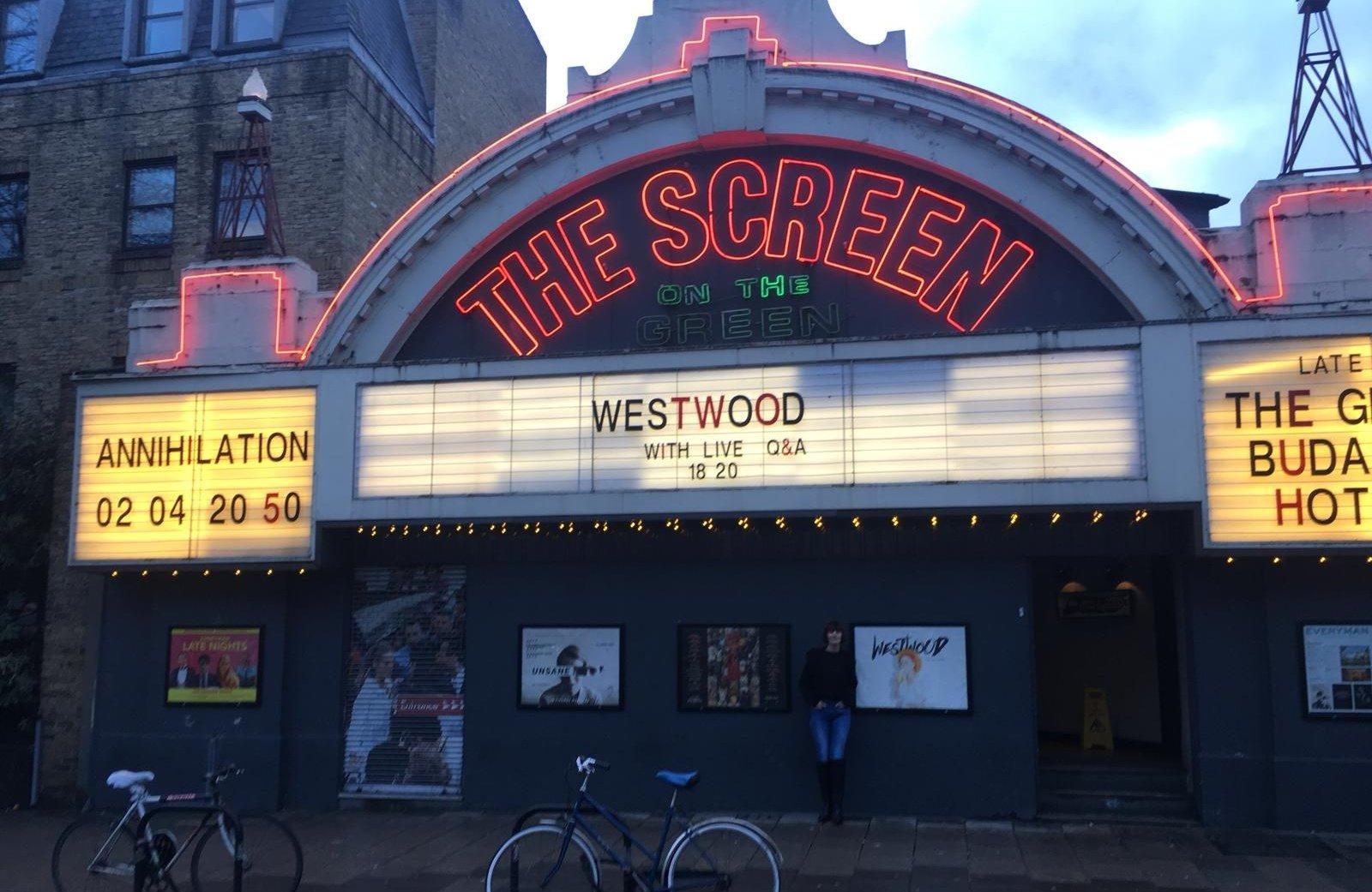 Q&A screening at Everyman Screen on the Green