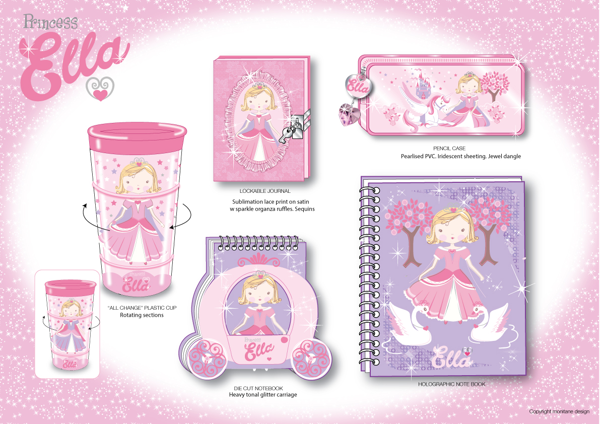 Princess Ella Stationery