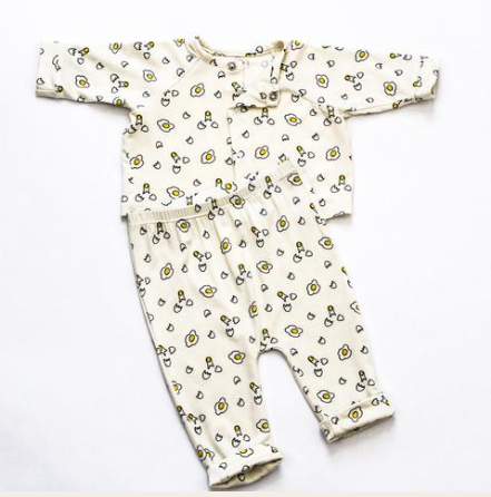 Sunny Side Up Pant and Cardigan