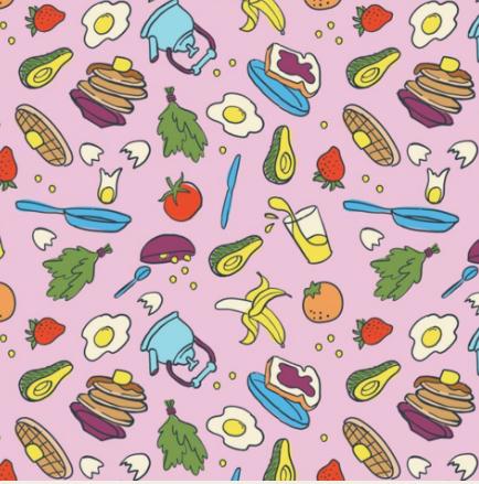 Strawberry Cream Blanket