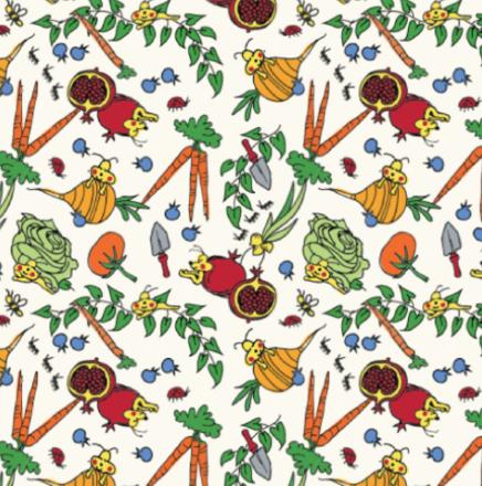 Veggie Garden Blanket