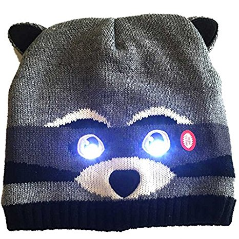 Light up eyes hat