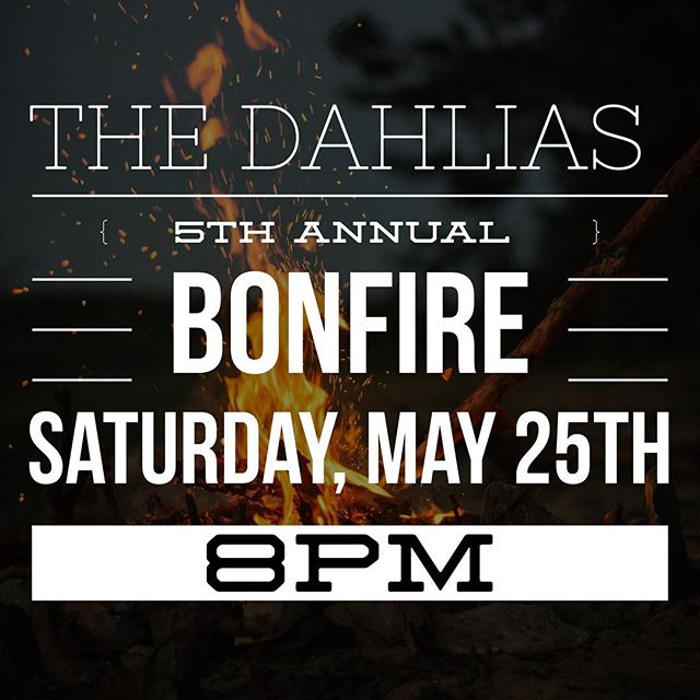 Come hang out with us at our 5th annual riding season kick off bonfire!  Details on our website! Link in bio.