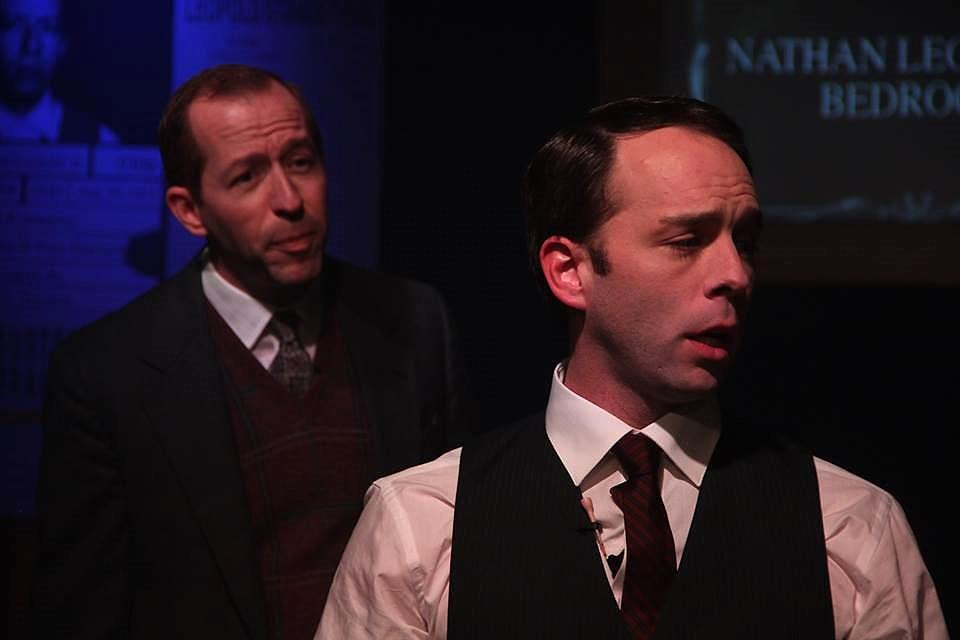 Brannen Daugherty & Brian Porter in  Thrill Me: The Leopold & Loeb Story
