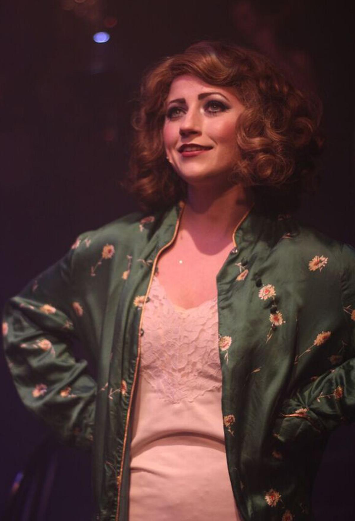 Sarah as Fraulein Kost in  Cabaret  (2015)