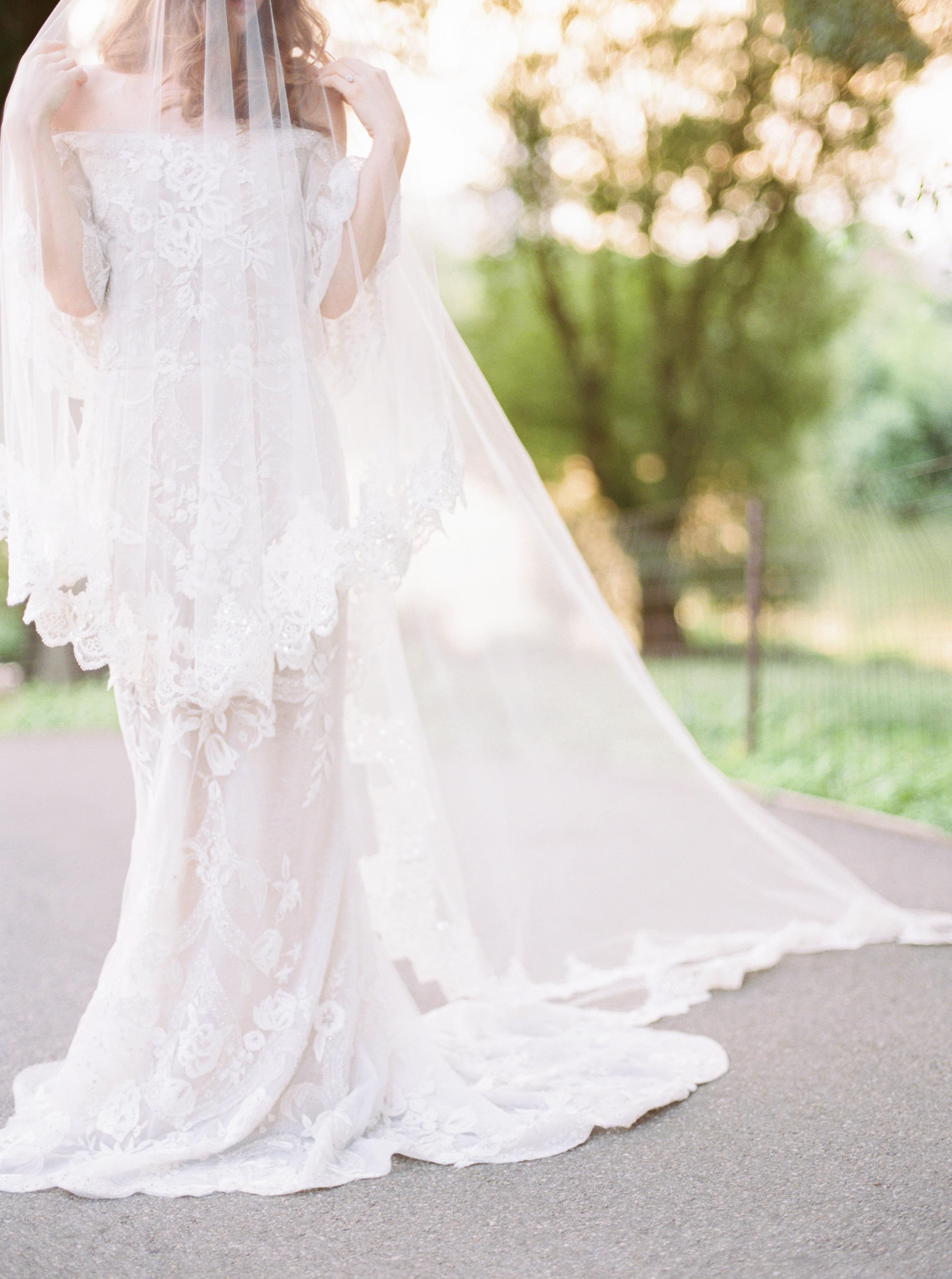 Marchesa Bride in Central Park