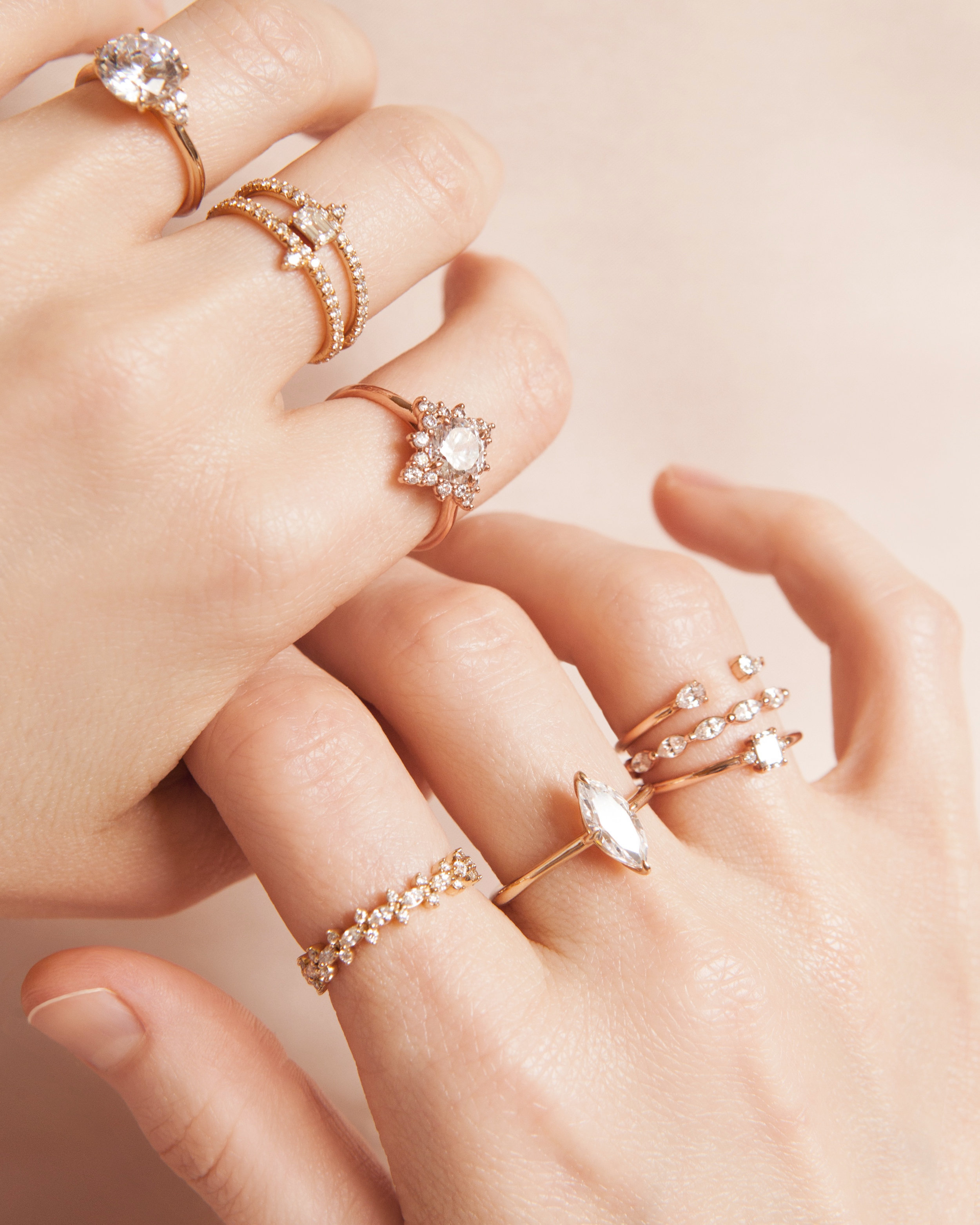 Caring For Your Susie Saltzman Jewelry - Insure your ring immediately upon receiving it.Have your ring checked by a trusted jeweler every six months.Clean your ring with warm soapy water and a soft toothbrush. Brush with care and don't forget to pull up the sink drain first!Store your ring in the same place every time you take it off.Remove your ring during certain activities, such as cleaning or swimming. Be sure to store it in your safe place!