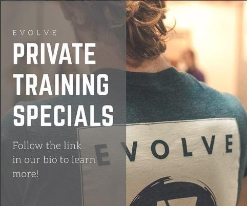 Private Training Specials