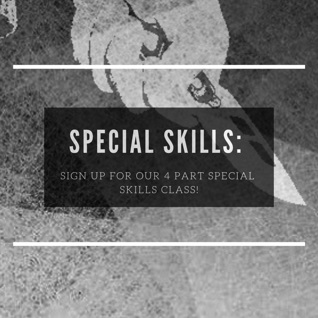 Sign Up For Special Skills