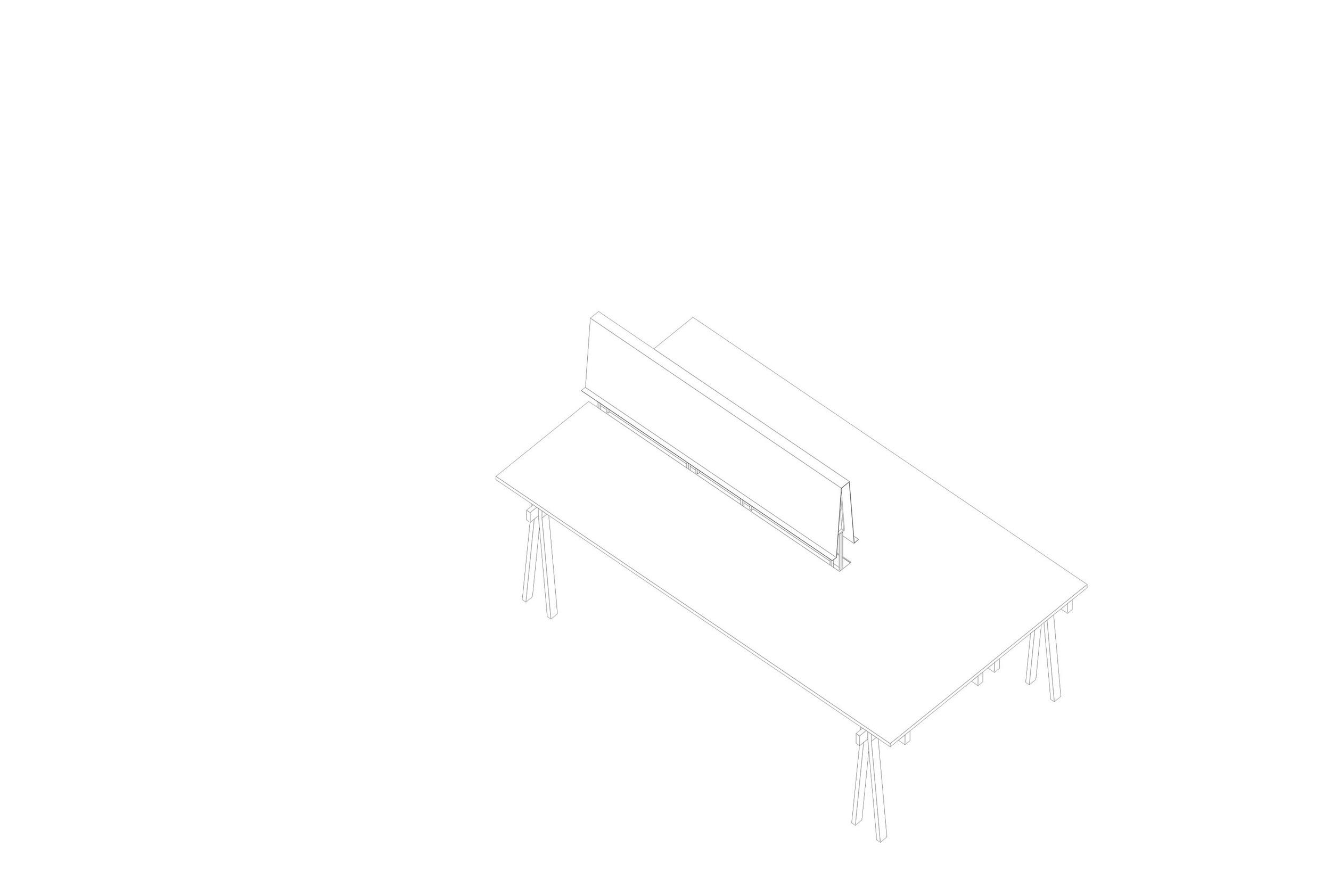 MC 2200   Estructura metálica con vigas de madera maciza de guatambú. Sistema de ensamble con bandeja intermedia.  Dimensiones: - 2200 x 850 x 1200  Material de tabla: formica/madera natural   Valor por unidad  $24960.- + I.V.A.  Valor por set (2 u.)    $36960.-+ I.V.A.