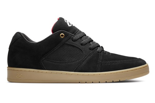 eS Footwear - Pure Skate Shoes… Accel Slim Black gum