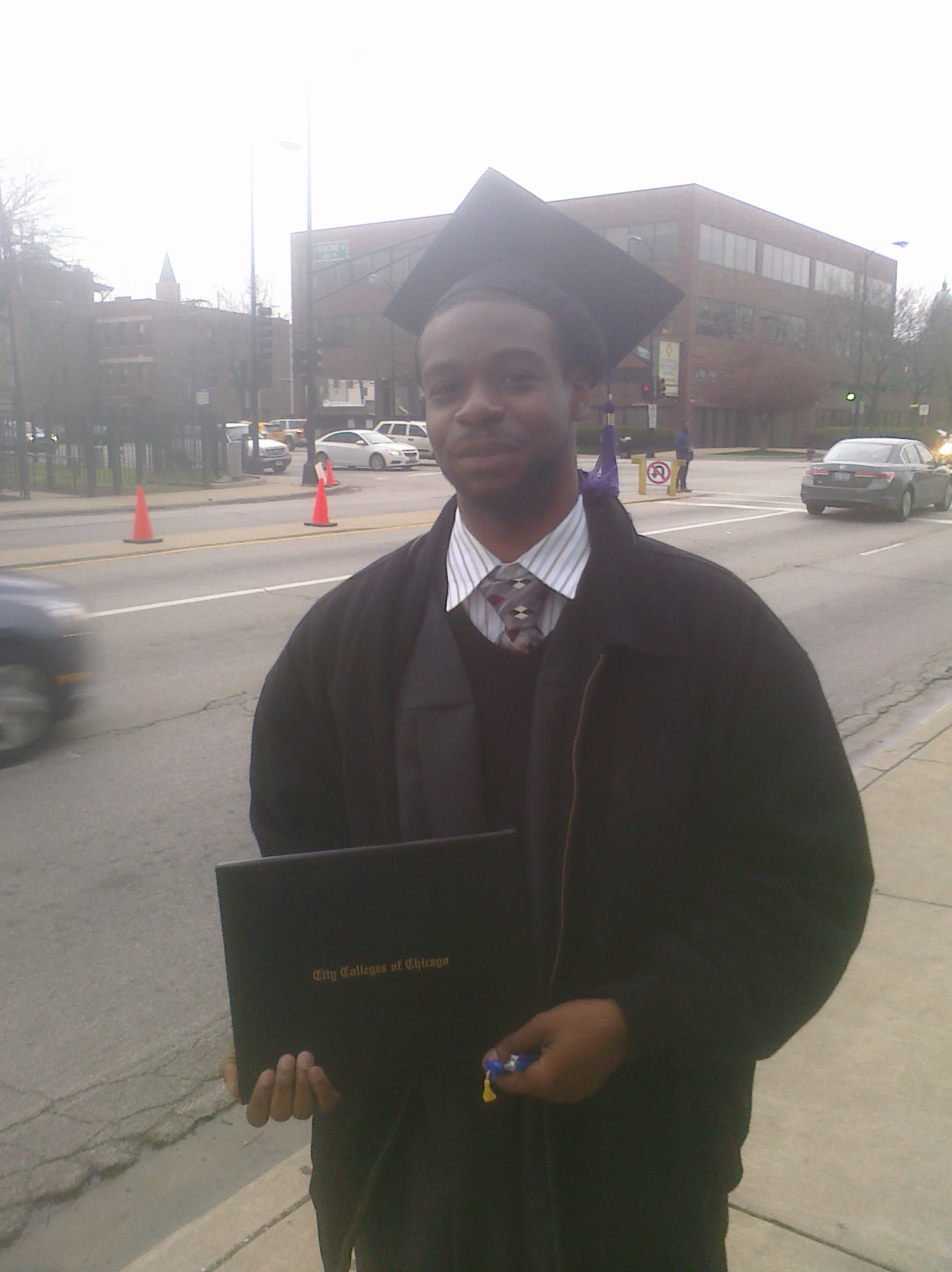 A Zacchaeus House guest on his college graduation day.