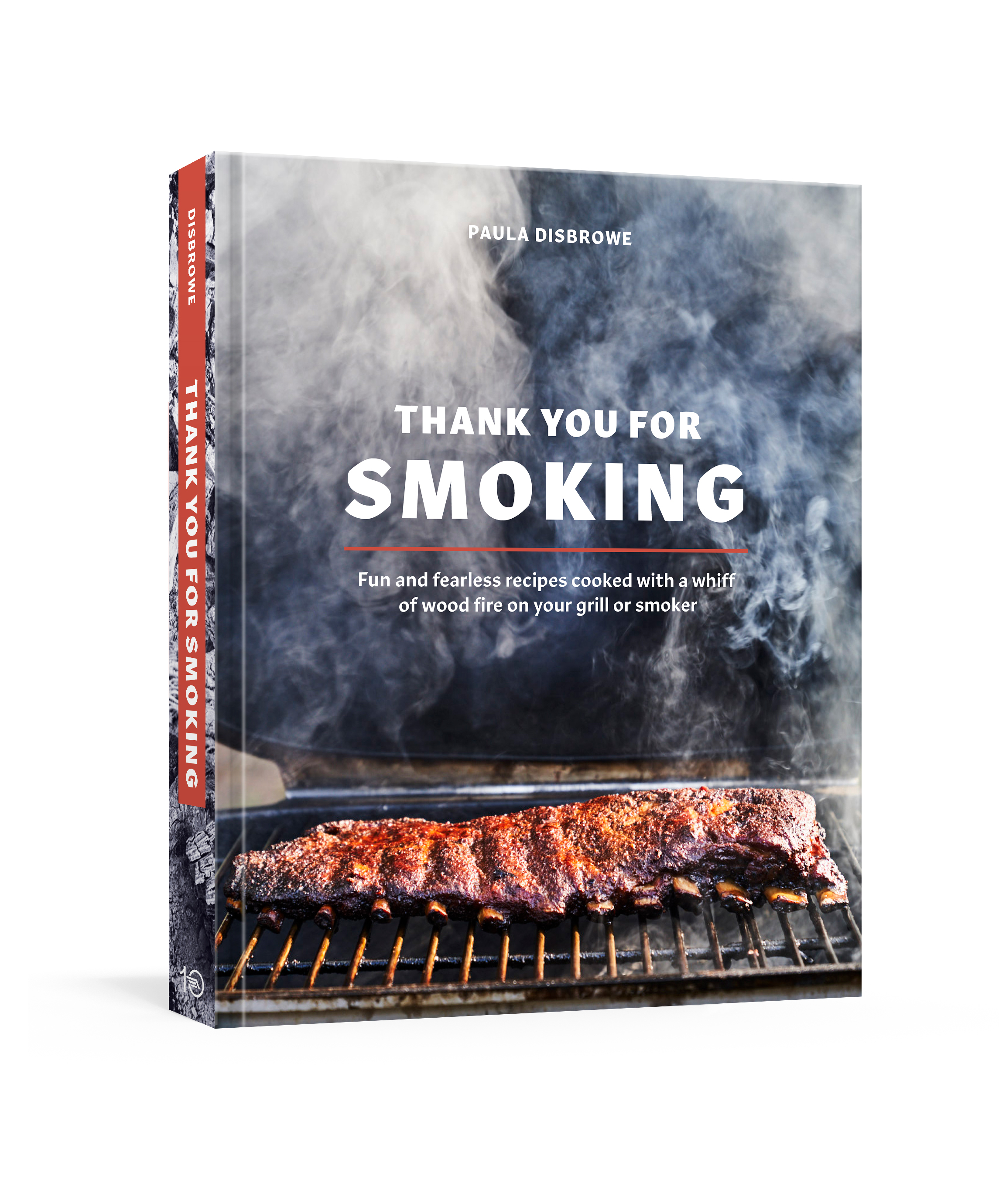Thank You for Smoking - In this sizzling collection of one hundred recipes for smoking meats, fish, poultry, vegetables, and more, award-winning author and grilling expert Paula Disbrowe shows you how to elevate your everyday meals with seductive, smoky flavors in as little as thirty minutes. Featuring an impressive array of smoke-infused dishes that extend well beyond the realm of rib joints, Thank You for Smoking shows you how to easily rig your gas or charcoal grill, or use a backyard smoker, to infuse everything you love to eat with a smoky nuance.
