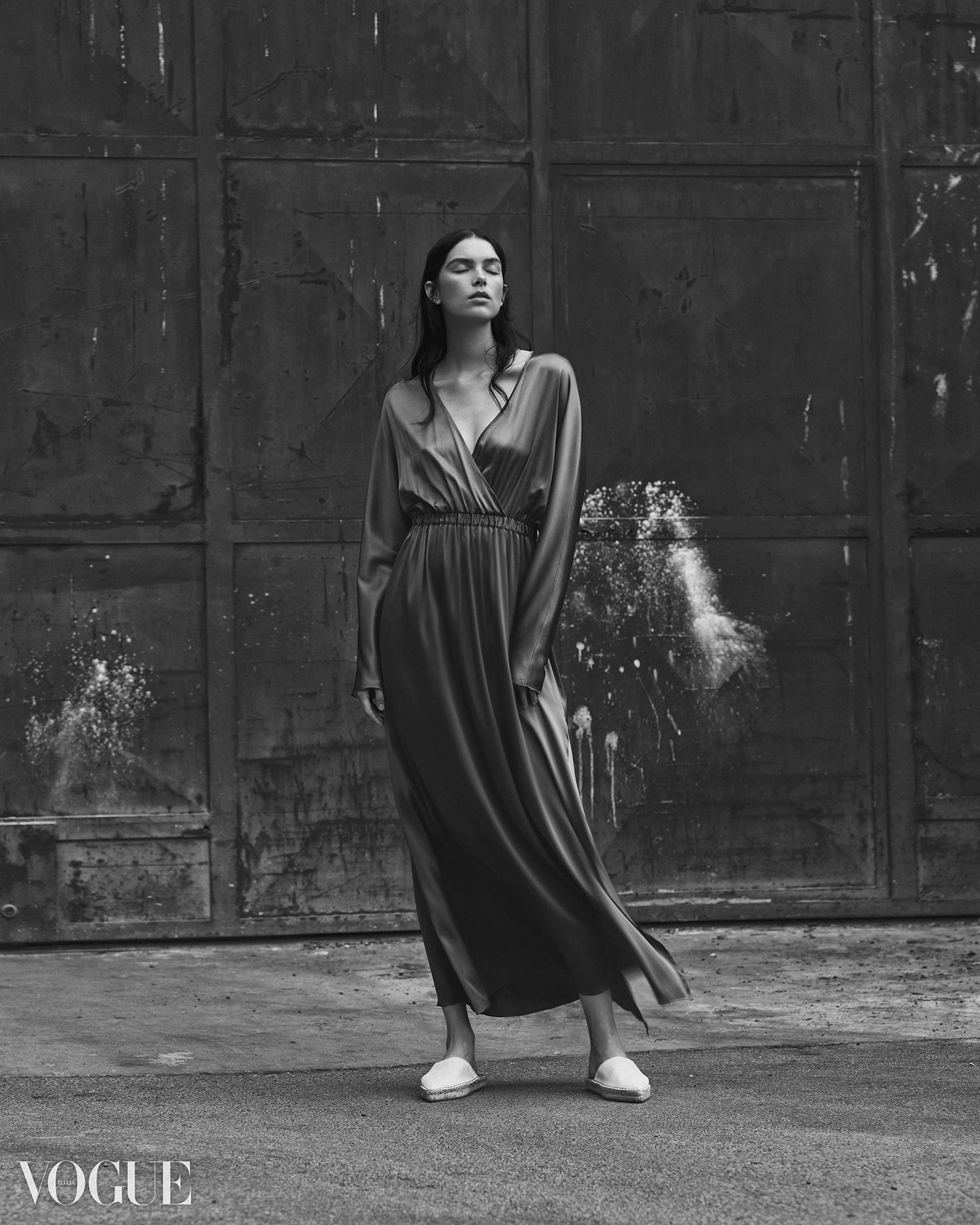 Sanne De Roo Photo Vogue Giuseppe Vitariello