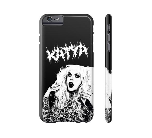 KATYA - METAL QUEEN PHONE CASE  $35.00