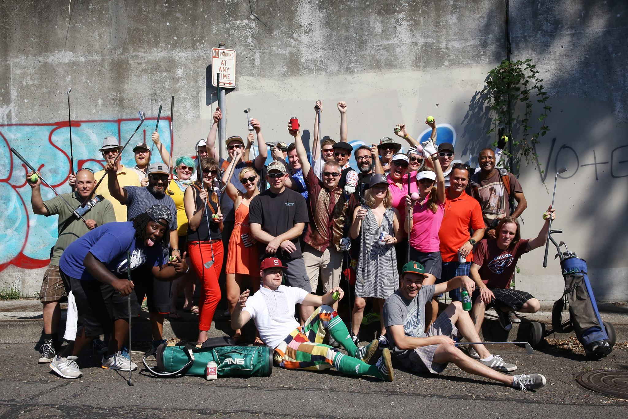 Portland Urban Golf Crew- Scott Mazariegos ©