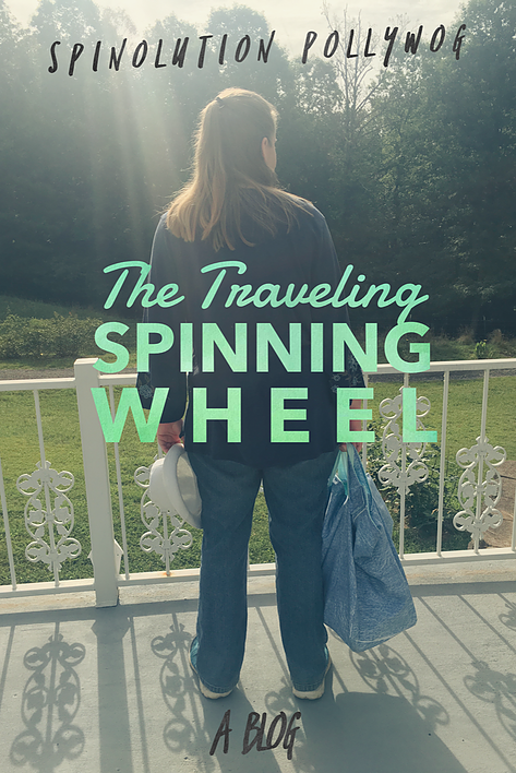 spinolution pollywog the traveling spinning wheel