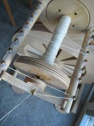 An example of cross lacing a flyer head.