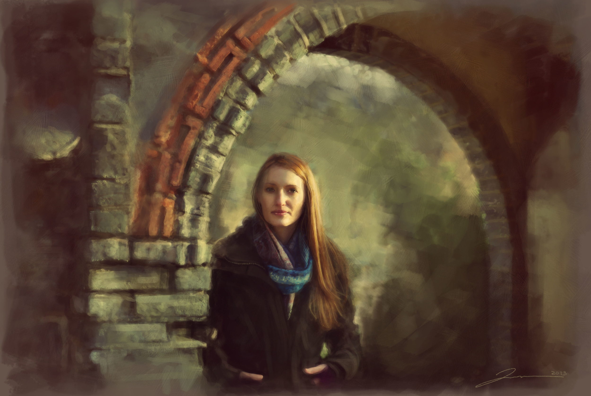 Megan - Autumn Temple