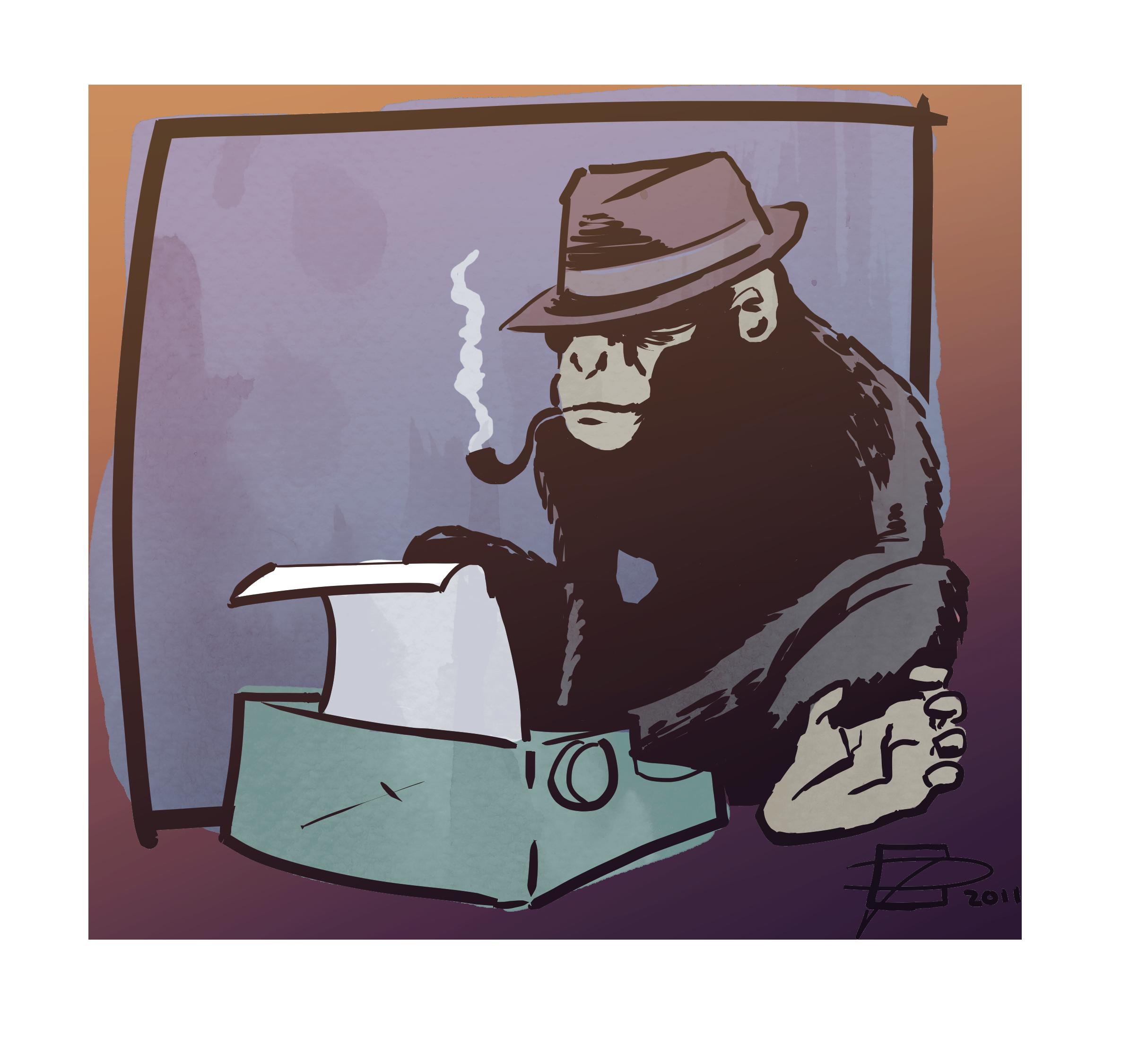 Chimp Can Key