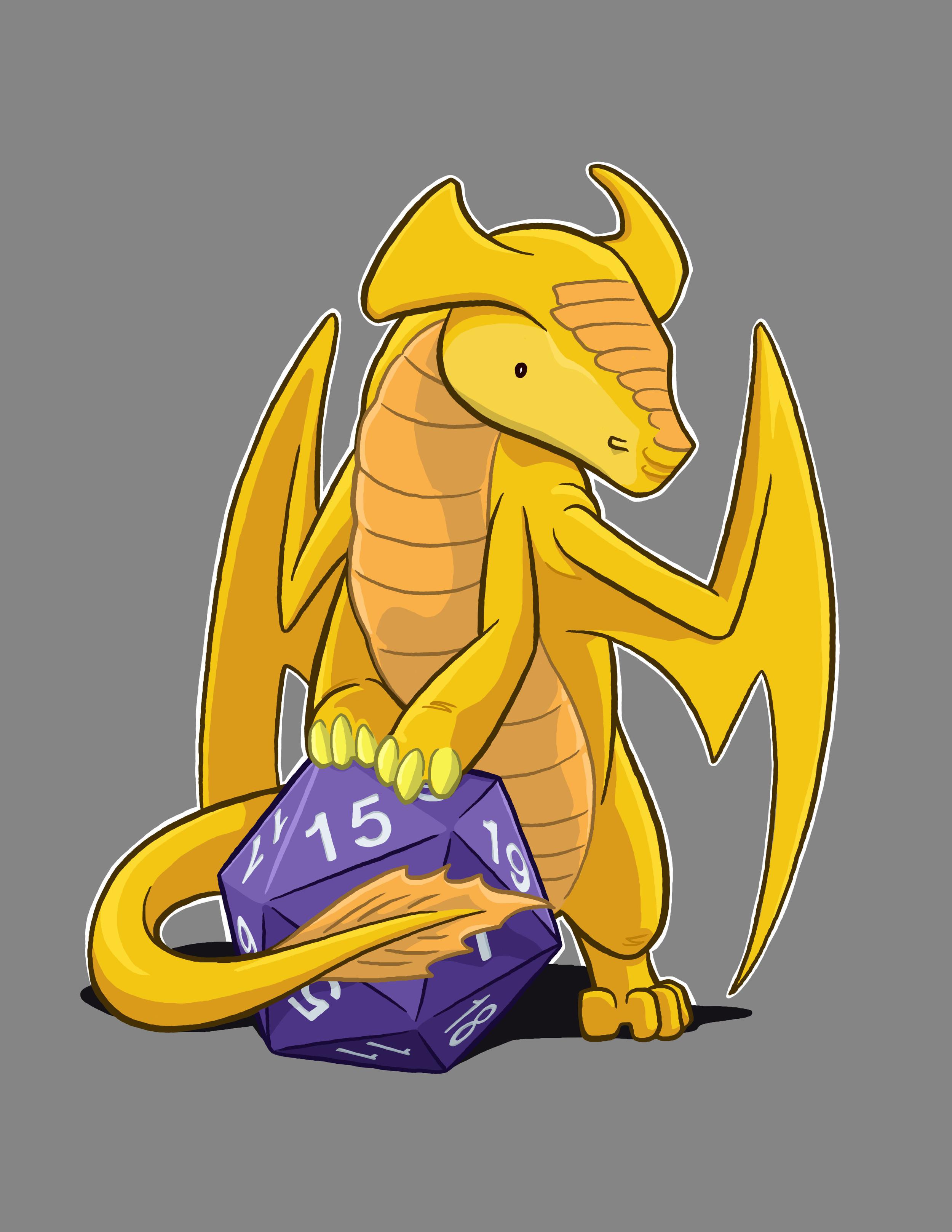 Golden Dragon D20