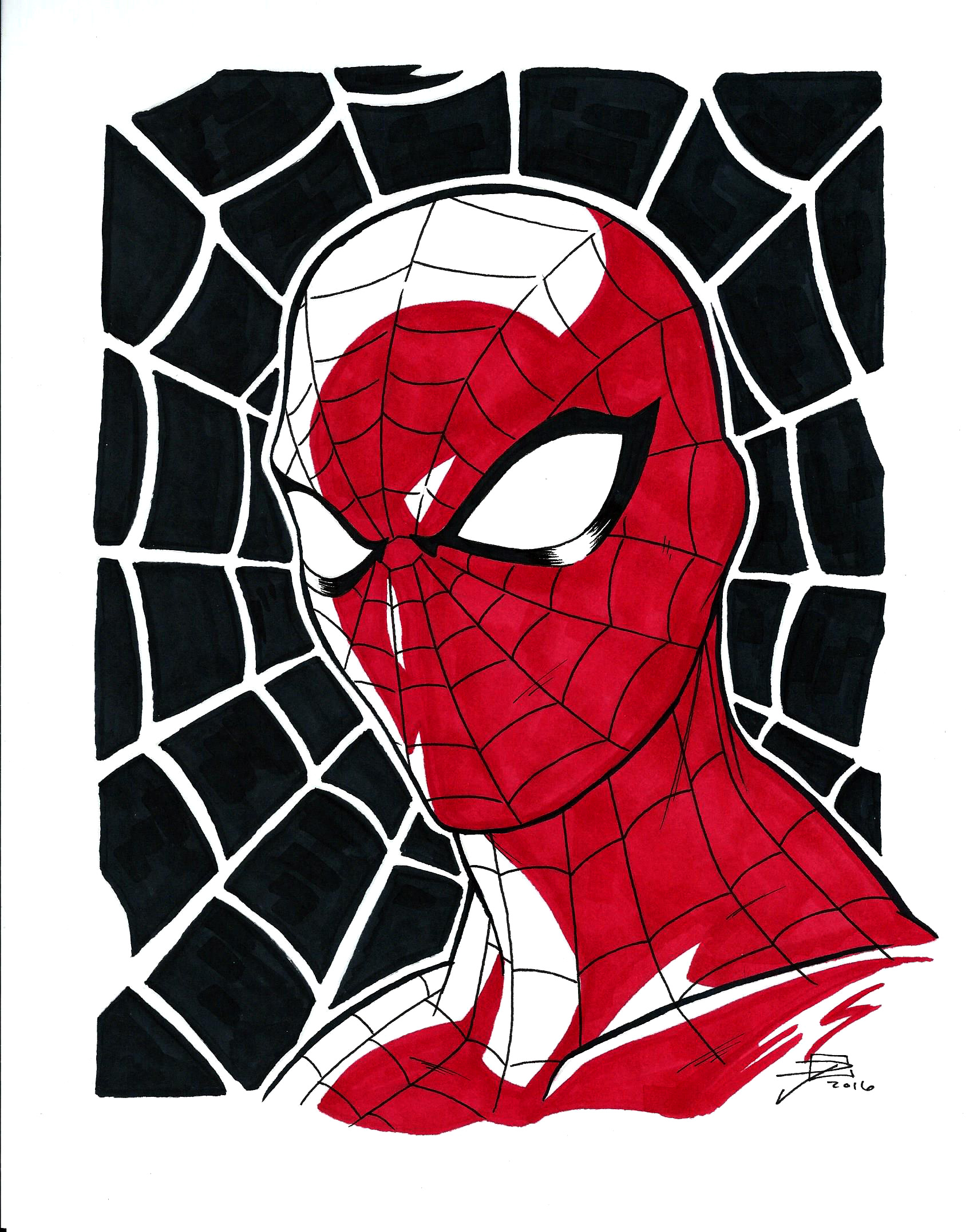 Spider-Man Portrait