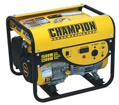 Generators & Blowers  -If You Can't supply power.