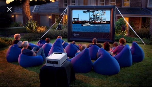 NEW- Outdoor Movie System!