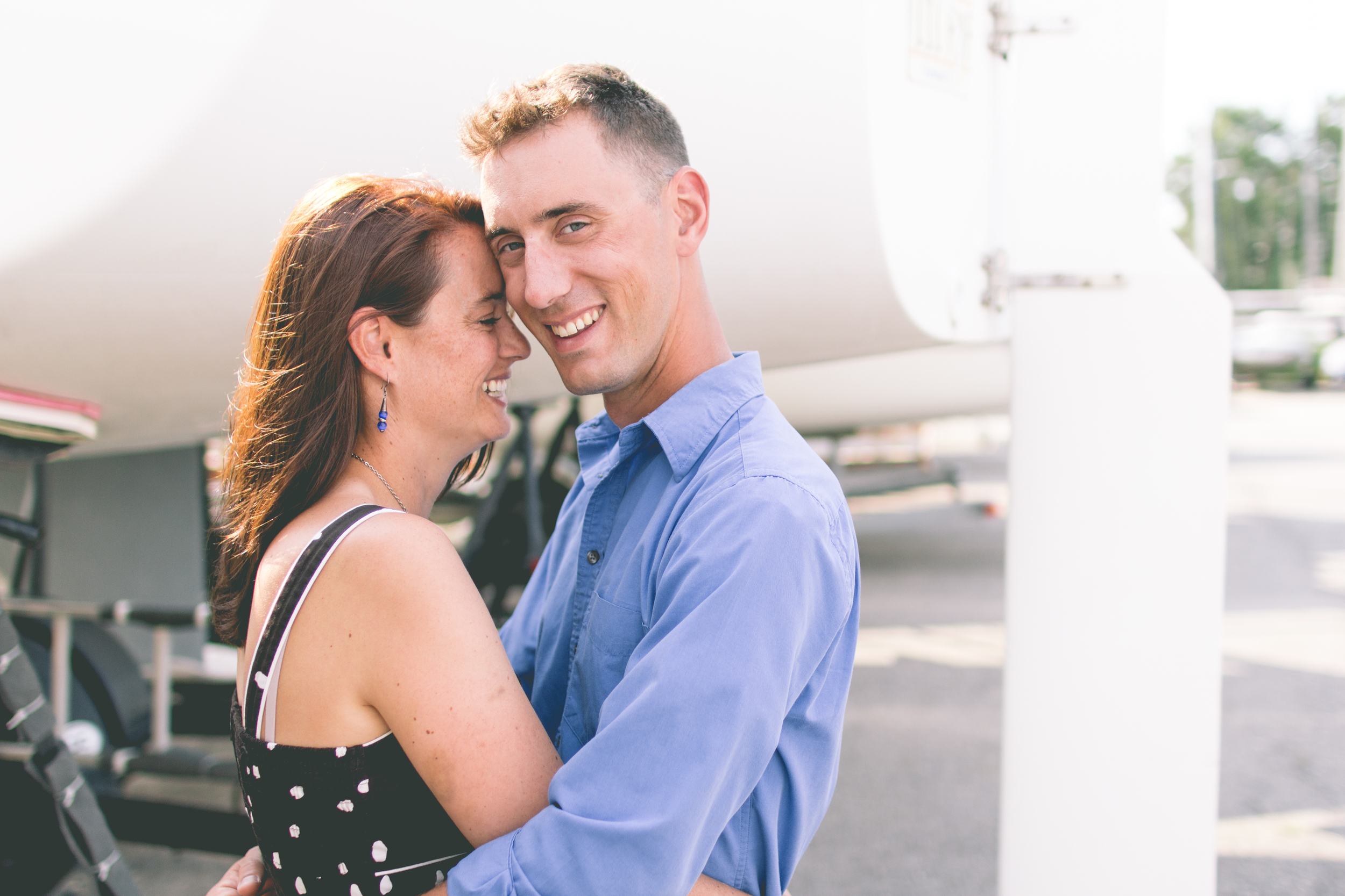 Cute-Sailing-Engagement-Photo