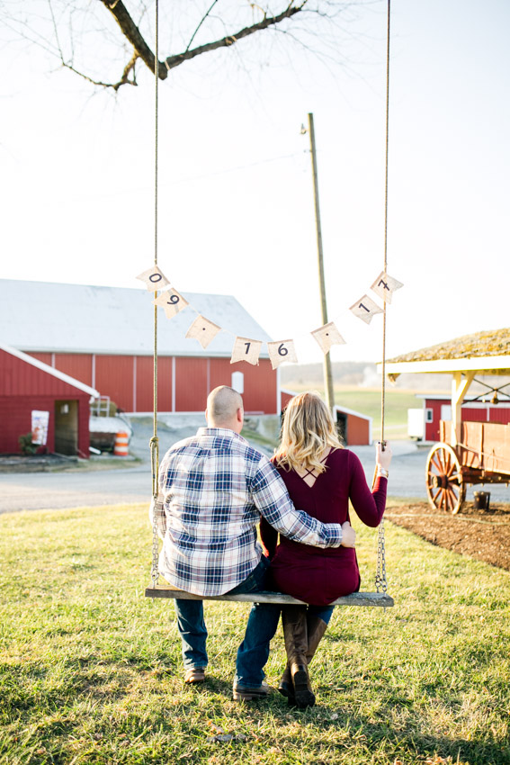 DIY Farm Save the Date