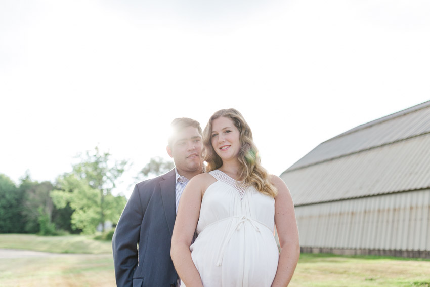 Beautiful Pregnancy Engagement Photos
