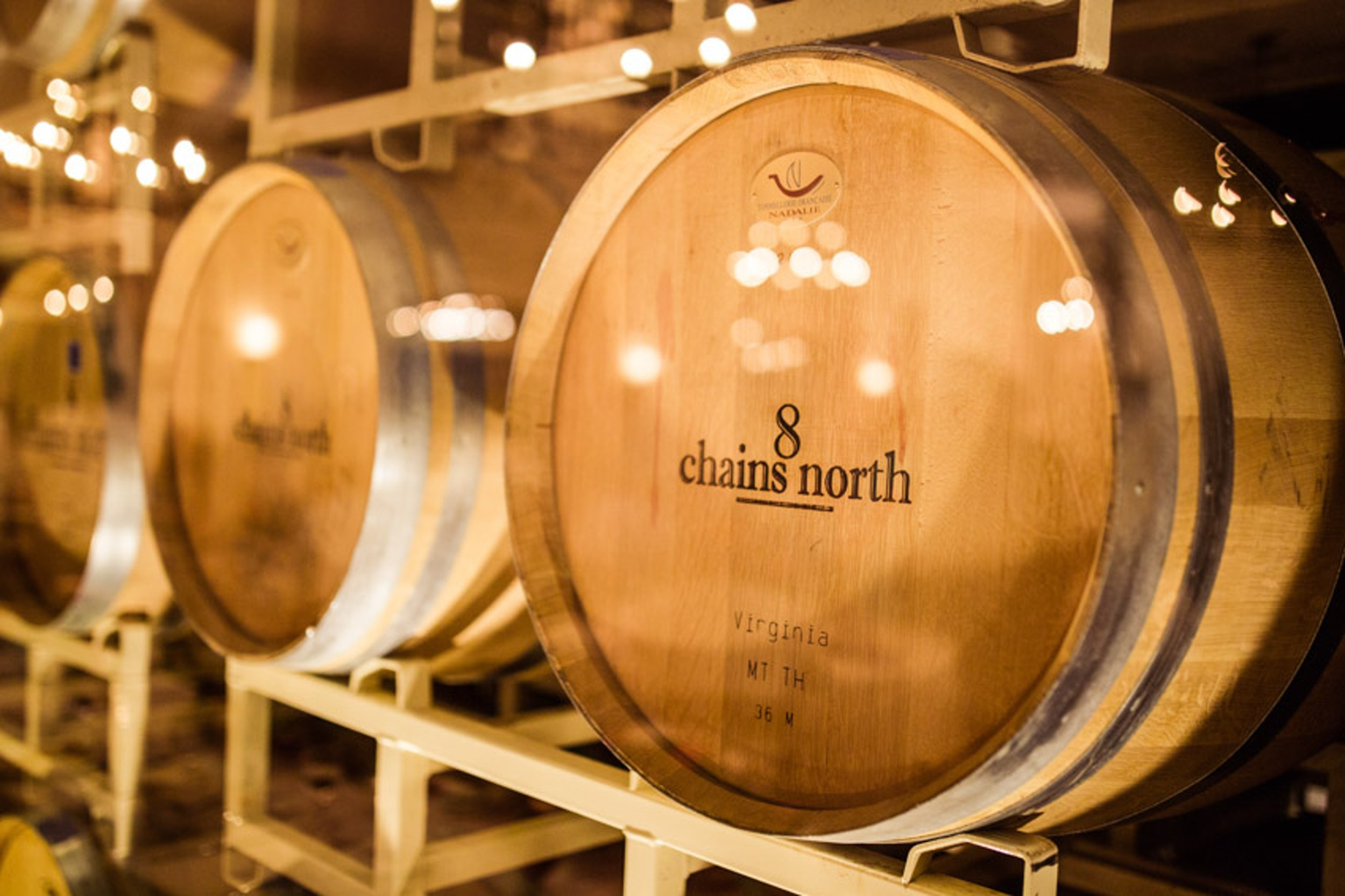 8 Chains North Winery Barrels