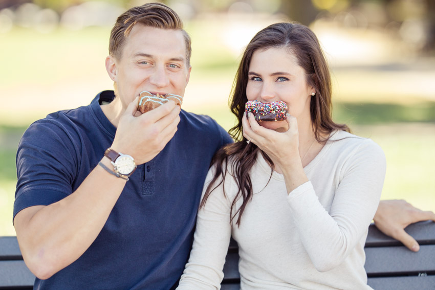 Diablo Doughnuts Engagement