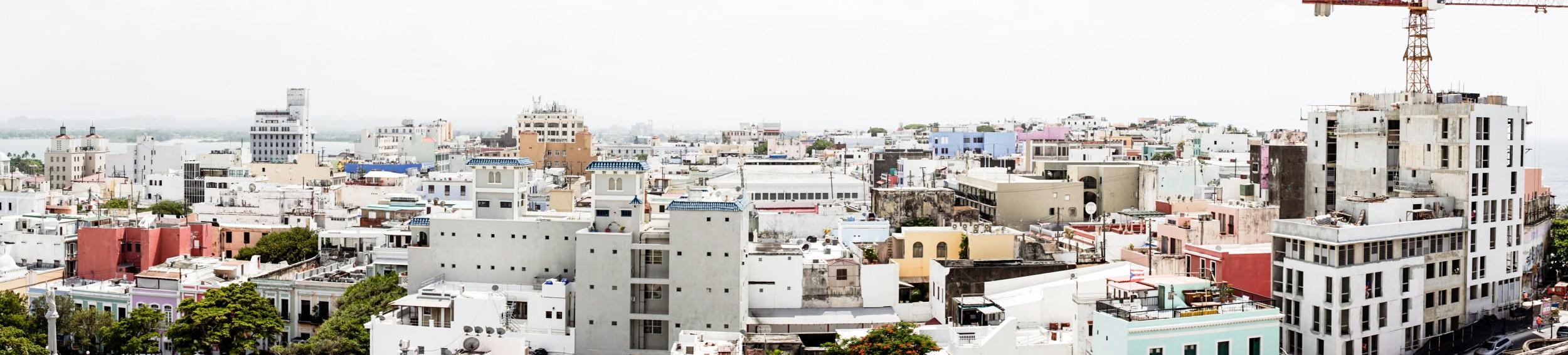 San Juan Panoramic Photo