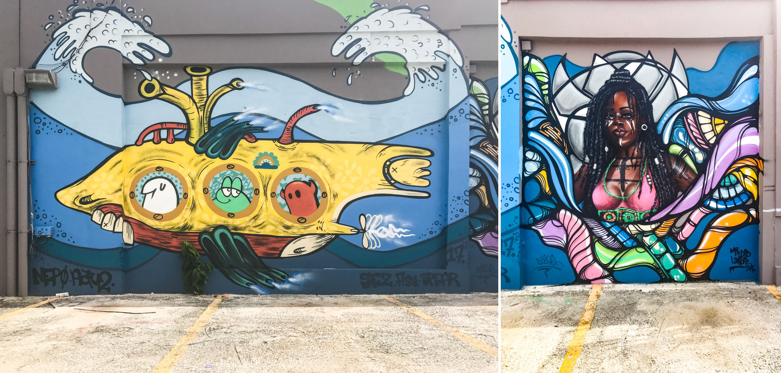 Ocean Park Puerto Rico Graffiti