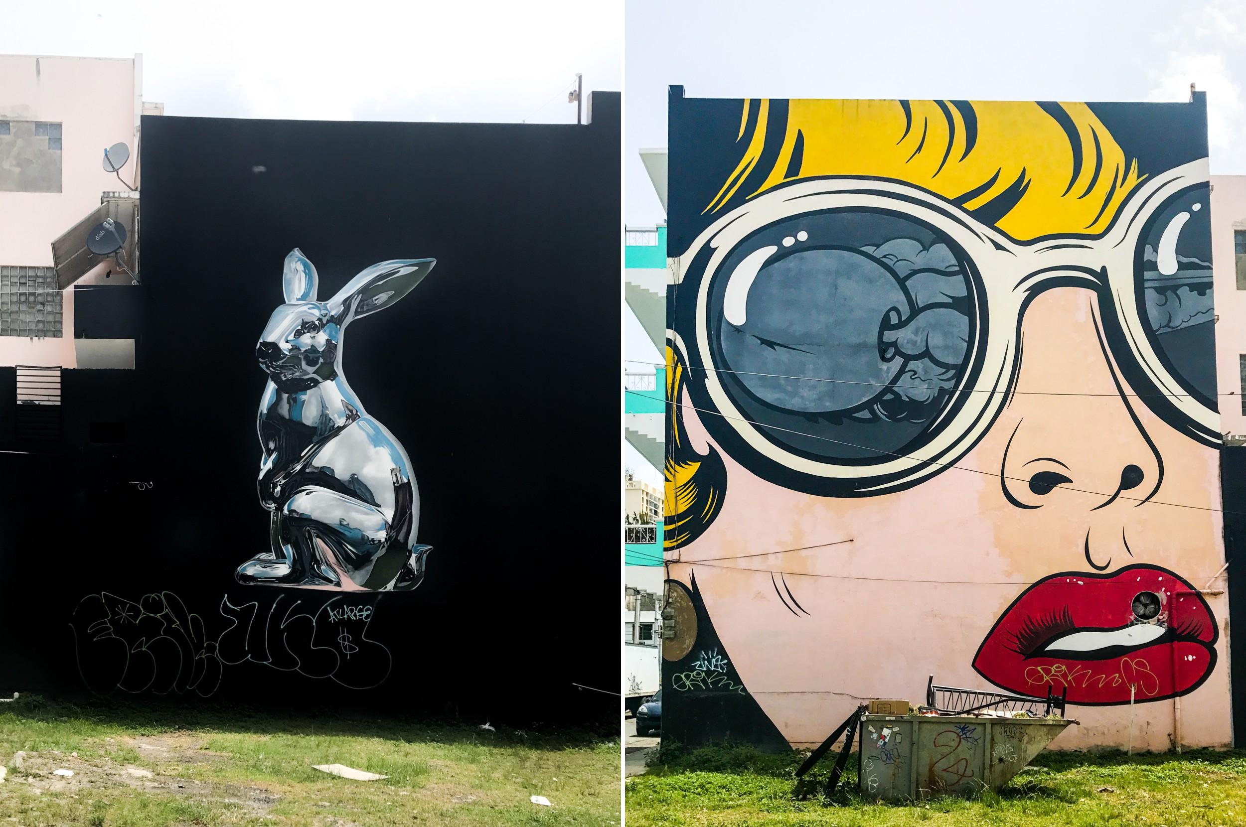 Puerto Rico Graffiti Bike Tour